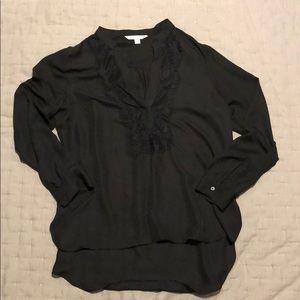 Lc shear black blouse
